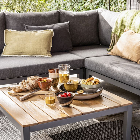 interieur styling tuin lounge hapjes